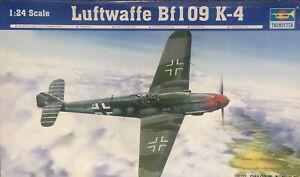 TRUMPETER 02418 Messerschmitt Bf109 K-4, 1:24 Neu in OVP