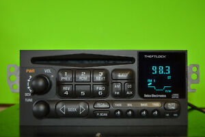 Chevy S10 Camaro Blazer 98 99 00 01 02 factory CD player radio OEM 09383045