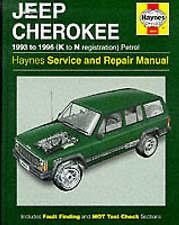 Haynes Workshop Manual Jeep Cherokee 1993-1996 Service Repair Petrol Gas New