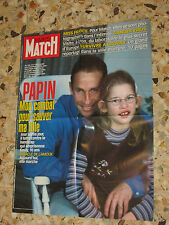 AFFICHE POSTER PUBLICITE PARIS MATCH 2000 JEAN PIERRE PAPIN ET EMILY