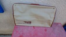 valise UTA vintage aviation toile  45 cm de long
