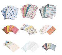 100% cotton fabric Fat Quarter BUNDLE various designs prints pack size
