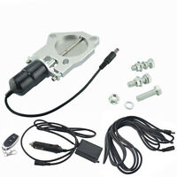 """2.5"""" Stainless Steel Y pipe Electric Exhaust CutOut Kit fit Remote Control Kits"""