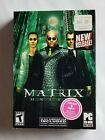 Cib Complete In Box Matrix Online Pc Cd-rom Computer Game 2005 Sega