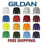 Gildan Heavy Cotton Mens Long Sleeve T Shirt Blank Plain Tee Basic 5400 S-3XL