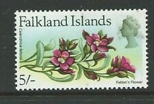 Flowers British Territory Stamps