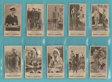 ROYALTY - HIGNETT - SET  OF  25 PRINCE  OF  WALES  EMPIRE  TOUR  CARDS  -  1924