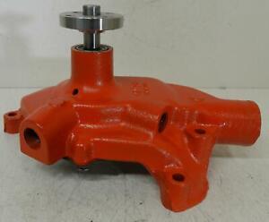 """Rebuilt 1961-63 Chevrolet Corvette water pump 283, 327ci 3757248 1/2"""" top outlet"""