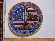 Military Patch US Navy A-6 Intruder Made In USA