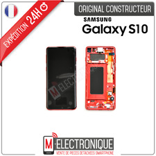 ECRAN LCD ROUGE ORIGINAL SAMSUNG GALAXY S10 SM-G973F