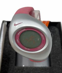 NIKE Timing Triax Pink Silicone Junior Watch WR0017 NIB!