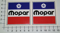 MOPAR 2 Stück Aufkleber Sticker Set Chrysler V8 US Muscle Car Rockabilly Mi111