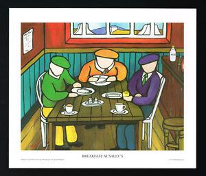 Breakfast At Sallys/Cafe/N/Irish Art Group/Fine Print/Martin Laverty/Ireland/New