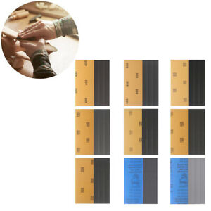 36pcs Schleifpapier Nassgitter Sortiment für Schleifen 9.3 x 23CM