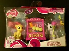 My Little Pony Apple Bloom & Sweetie Belle Fun at The Fair PLAYSET Retired RARE