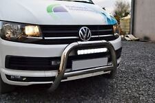 PER 2015 + VW TRANSPORTER T6 CARAVELLE BULL BAR EU EC + LED Faro Barra - B