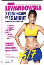ANNA LEWANDOWSKA- 7 treningow po 15min   DVD POLISH