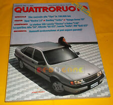 QUATTRORUOTE n 400 Febbraio 1989 Opel Vectra, Alfa Romeo 75,  Golf 1.8 GTI