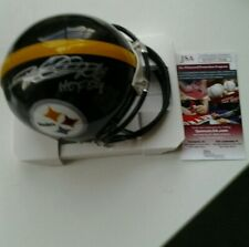 Steelers mini helmet signed by Rod Woodson with HOF comes with JSA