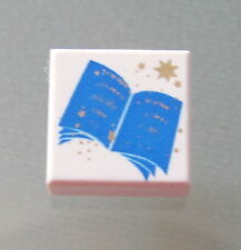 LEGO 3070px8 @@ Tile 1 x 1 with Blue Open Book Pattern @@ 4709 4729 4731 4756