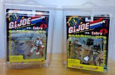 GI JOE vs Cobra Lot of TWO Gung-Ho vs. Destro & Snake Eyes vs. Storm Shadow NIB