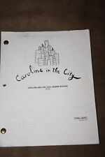 LEA THOMPSON AND SCRIPT FROM CAROLINE IN THE CITY