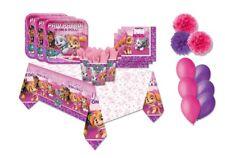 Kit n.49 paw patrol girl skye rosa fucsia viola festa party compleanno fluffy