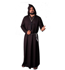 MONK ROBE QUALITY BLACK COSTUME