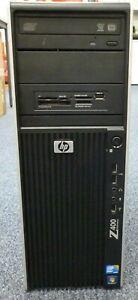HP Z400, Xeon W3565 3.2GHz, 500GB HDD, 12GB RAM, Nvidia Quadro 295, Linux Ubuntu