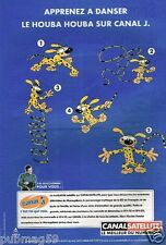 Publicité Advertising 2000 Canal Satellite avec Marsupilami
