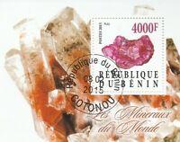 Mineralien Benin gestempelt 1928