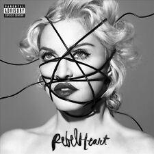 Madonna REBEL HEART Deluxe Edition +5 BONUS SONGS Gatefold NEW SEALED VINYL 2 LP