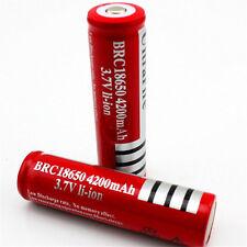 2 x UltraFire 18650 4200mAh 3.7V Li-ion Batería Recargable Alto Consumo para Vape