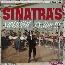 SINATRA'S SWINGIN' SESSION!!! UK  CAPITOL SW 1491 STEREO 1961 LP Mint Condition