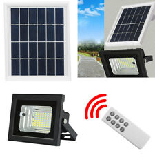 OUTDOOR SOLAR POWER GARDEN YARD PATIO WATERPROOF LIGHT CONTROL 64-LED WALL LAMPS