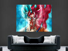 Dragon Ball Z Poster Manga Super Goku Art Wall Large Image Giant poster print