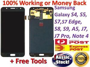 For Samsung Galaxy S9 S8 S5 S4 J2 J3 J5 Pro J8 A5 A3 LCD + Touch Digitizer +Tool