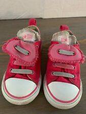 Converse All Star Chuck Taylor Double Tongue Pink low top Children's Size 8