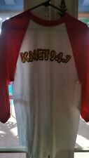 """Brand New"" KMET 94.7 BASEBALL JERSEY PANAMA RED < Retired 2012 Edition > XLARGE"