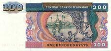 Birmanie Burma  100 Kyat 1994 uncirculated maçons