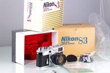 Nikon Rangefinder S3 Year 2000 Limited Edition + Nippon Kogaku NIKKOR-S.C 1.4 50