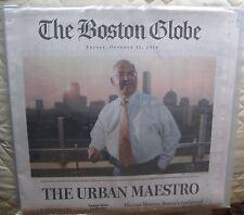 Obituary 2014: Thomas Menino, Age 71, Beloved Mayor of Boston For Twenty Years