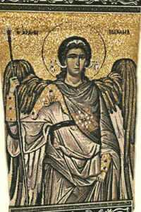 Eastern Orthodox Tapestry Icon Archangel St. Michael Catholic Woven Wall Hanging