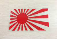 Rising Sun jdm japan flag decal Car Sticker 125mm x 75mm RED Reflective