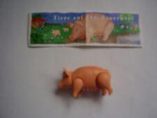 1 x Tiere - Tiere auf dem Bauernhof / Schwein Sau-stark - + 1 BPZ von 2001