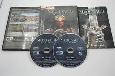 PC MEDIEVAL II 2 TOTAL WAR COMPLETO PAL ESPAÑA
