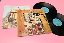 FRANK ZAPPA 2LP UNCLE MEAT 1°ST ORIG ITALY 1974 EX GATEFOLD COVER E LIBRO BOOK