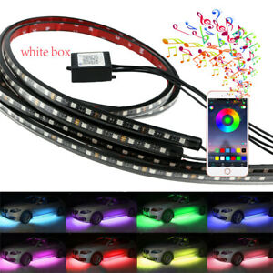 210 Model Flexible LED Strip Under Car Tube Underglow Underbody System+Phone APP