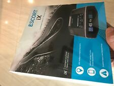 Escort IX Long Range Radar Laser Detector Black Bluetooth with GPS and Database