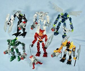 Lego Bionicle TOA MAHRI (8910-8915)  Complete with Cordak Blaster Weapons